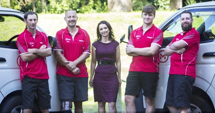 Sharp Plumbing Services Wanganui Team Photo