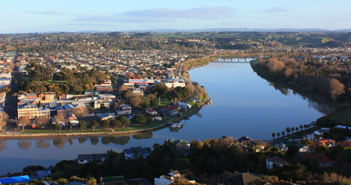 Wanganui city view